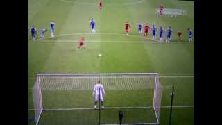 Liverpool vs Chelsea - Downing's Penalty