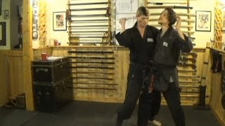 Tantojutsu (短刀術) Knife Trapping Drill ☯ Ura & Omote Nagare Uke