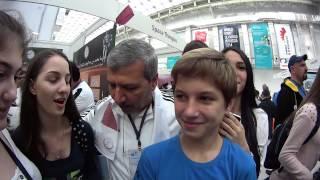 (Олимпиада) Выставка робототехники в Сочи 2014. Влог с DmitriyRuTv.