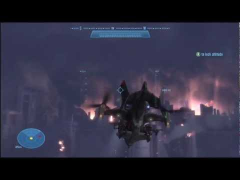Let's Play Halo: Reach (Walkthrough) - #14 Falcon Air Support and the Hospital Jammer
