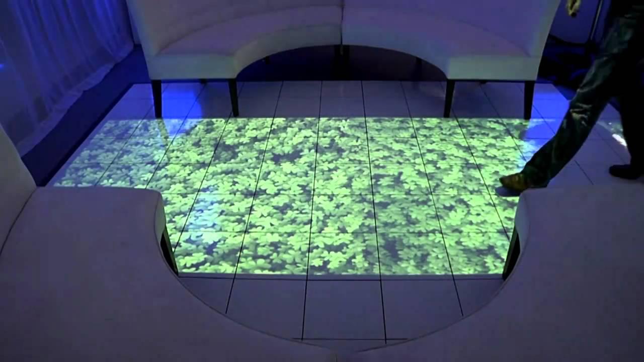Interactive Floor Levy Lighting Nyc