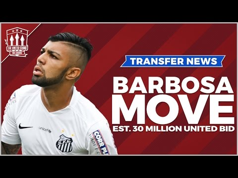 Gabriel BARBOSA to Sign for Manchester United   Transfer News
