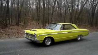 1966 Plymouth Fury III Burnout's...