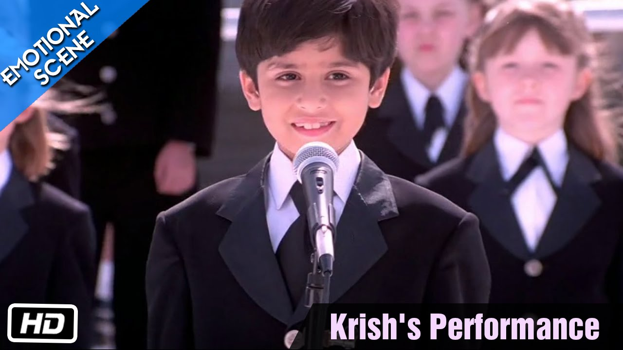 Download Krish's Performance - Emotional Scene - Kabhi Khushi Kabhie Gham - Kajol, Shahrukh Khan
