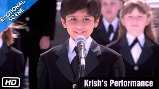 Video Krish's Performance - Emotional Scene - Kabhi Khushi Kabhie Gham - Kajol, Shahrukh Khan download MP3, 3GP, MP4, WEBM, AVI, FLV Oktober 2019