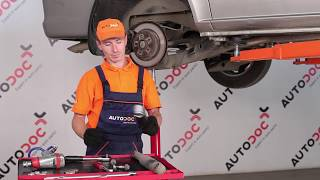 How to change rear shock absorbers on MERCEDES-BENZ VIANO W639 TUTORIAL | AUTODOC