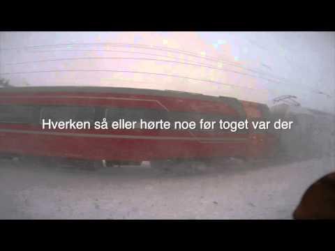 Finse stasjon i storm