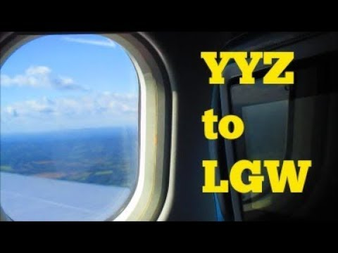 TRAVEL VLOG 2 │COME FLY WITH US │TORONTO TO LONDON