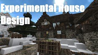 Minecraft: Frozen Island - Experimental Small House Design