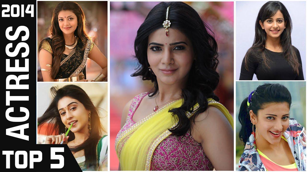 Top 5 Actress Of 2014 Viewers Choice Telugu Film Nagar Awards