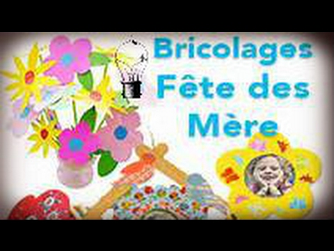 activit enfant id es bricolage f te des m res youtube. Black Bedroom Furniture Sets. Home Design Ideas