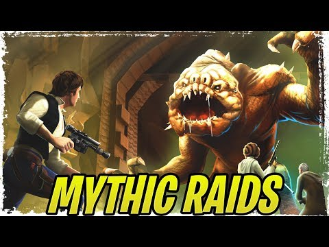 Mythic Raids Datamined and Leaked - Bounty Hunter Ships for OT Falcon? | Galaxy of Heroes