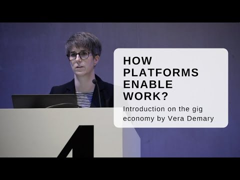 How platforms enable work? Introduction in the gig economy.