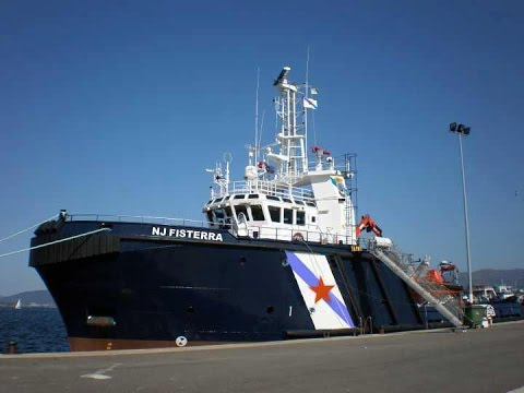 "Ahts ""NJ PUNTA FISTERRA"" to OFFSHORE operations, NAVIEIRA JALISIA."