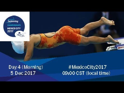 World Para Swimming Championships | Mexico City 2017 | Day 4 Morning