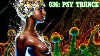 ☆Psychedelic Trance Goa Spirit 1hr Live Mix☆ | March 2015 | DJ Quadrasonik