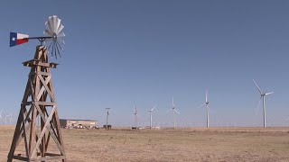 A Texas town leads the country in using solar and wind energy