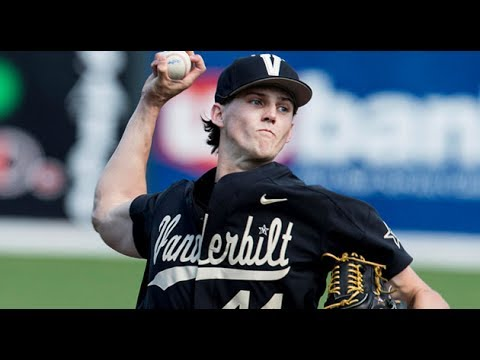 Jays take college shortstop Warmoth, pitcher Pearson in first round of draft