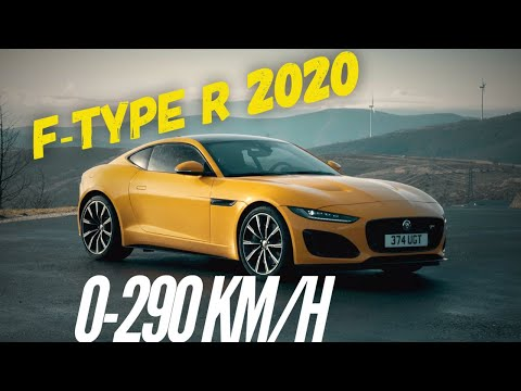 Jaguar F-Type R 2020 : 0-290 km/h