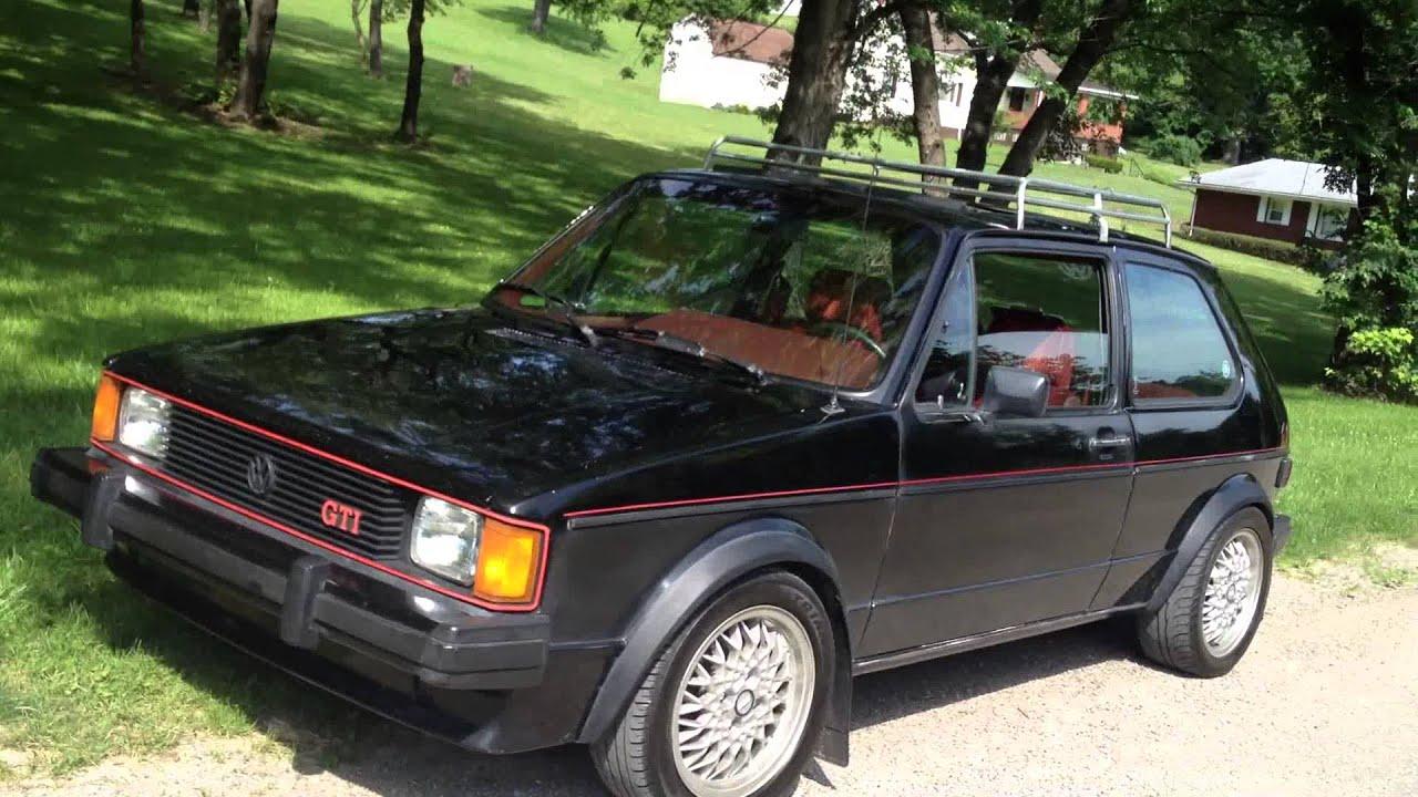 1983 VW Rabbit GTI .. Pittsburgh, PA - YouTube
