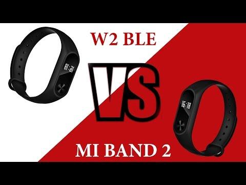 Жесть! ПОДДЕЛКА Mi Band 2! Точная копия. Классный фитнес браслет. Обзор W2 BLE.. Сделано в Китае.