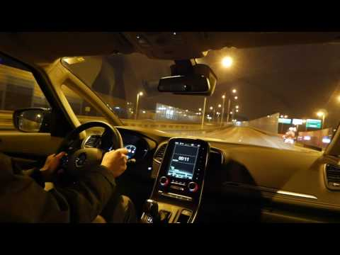2017 Renault Grand Scenic NIGHT TEST DRIVE Led Lights [Jazda Próbna] Testowa PL