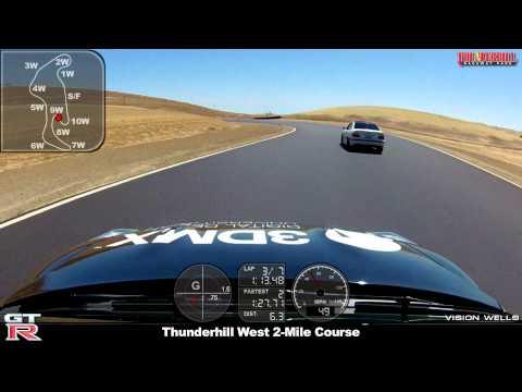 Thunderhill West 2-Mile Course - 2013 Nissan GTR v.3