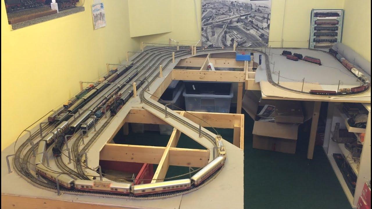 Modellbahn Schattenbahnhof-Steuerung bauen analog in H0 - YouTube