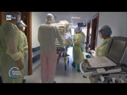 Coronavirus: gli sforzi degli ospedali del Lazio - Porta a porta 18/03/2020