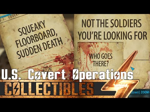 Fallout 4 - All U.S. Covert Operations Magazines - Location Guide