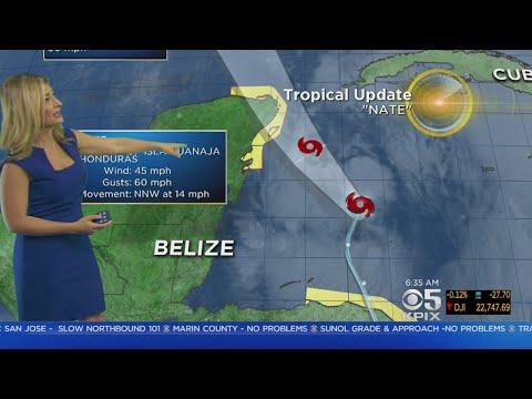 Tropical Storm Nate May Slam Into Gulf Coast As Hurricane