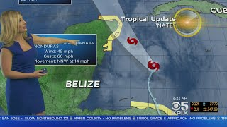 Tropical Storm Nate May Slam Into Gulf Coast As Hurricane