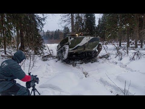 Закулисье съемок ролика про БТР-Д
