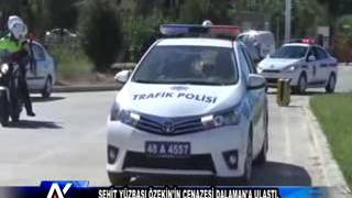AYTV AYDIN Şehit Yüzbaşı Özekin'in cenazesi Dalaman'a ulaştı