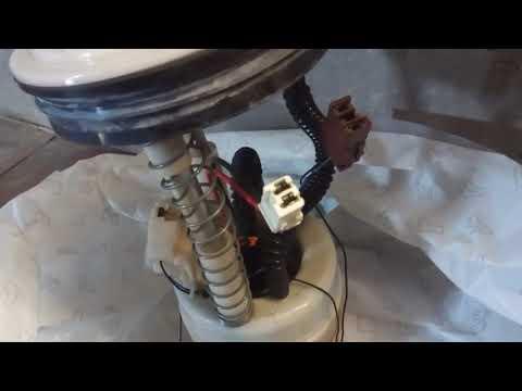 Замена топливного фильтра Nissan X-Trail T31Ниссан Х-Трейл QR25DE.