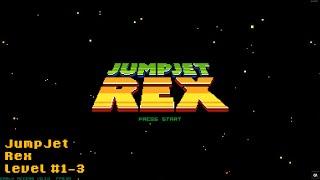 JumpJet Rex Levels #1-3 [60FPS]