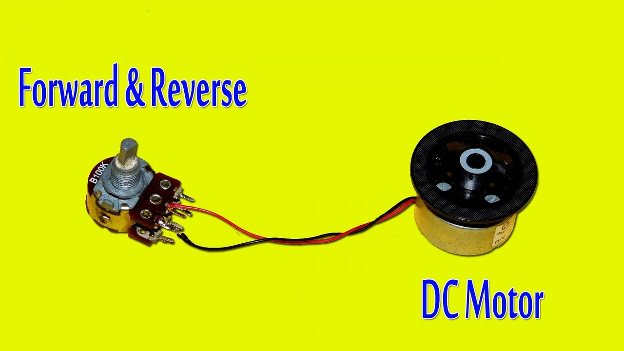 medium resolution of simple dc motor forward and reverse control circuit