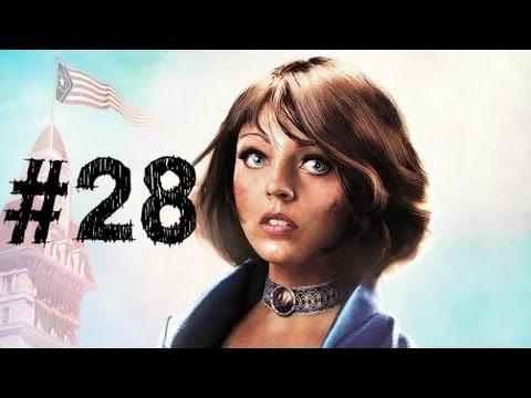 Bioshock Infinite Gameplay Walkthrough Part 28 - Bank of the Prophet - Chapter 28