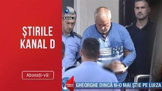 Stirile Kanal D (13.09.2019) - Gheorghe Dinca n-o mai stie pe Luiza! Editia de seara