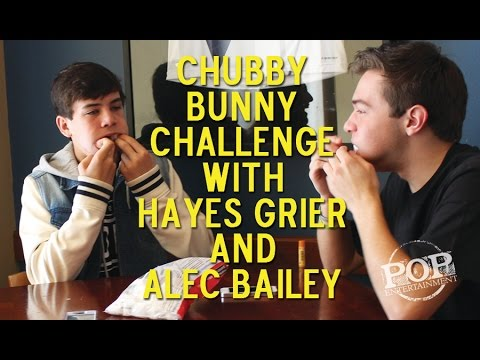Chubby Bunny with Hayes Grier & Alec Bailey