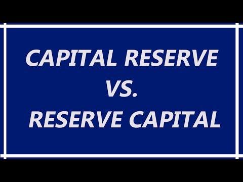 Capital Reserve Vs.