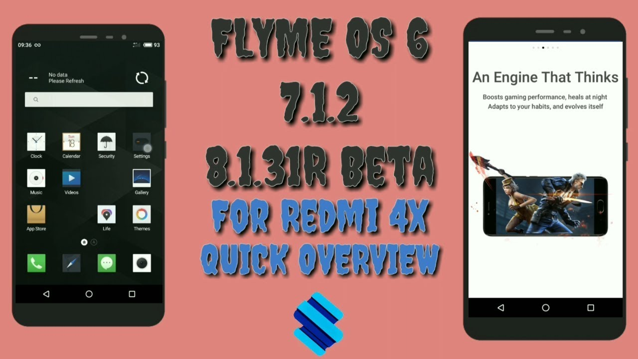 Flyme os 6 android 7 1 2 8 1 31R beta For REDMI 4x