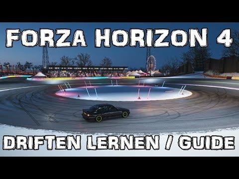 Forza Horizon 4 /// Driften lernen? /// Anfänger Guide Deutsch /// Driftfedern? thumbnail