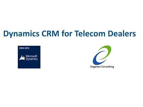 Dynamics CRM for Telecom Dealers