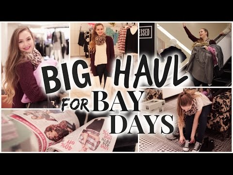 My Big Haul For Bay Days! (Fall Fashion, Accessories & Giveaway!)