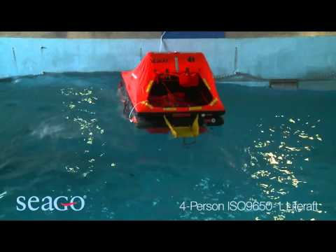 SEAGO 4 Person ISO 9650 1 Liferaft | Pirates Cave Chandlery