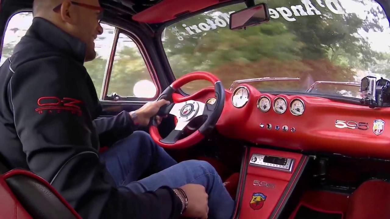 Fiat 500 Elaborazione D'ANGELO MOTORI 700 cc - Cambio 5 ...
