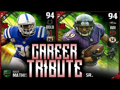 Madden 17 Career Tribute TOTW Pack Opening Steve Smith And Robert Mathis
