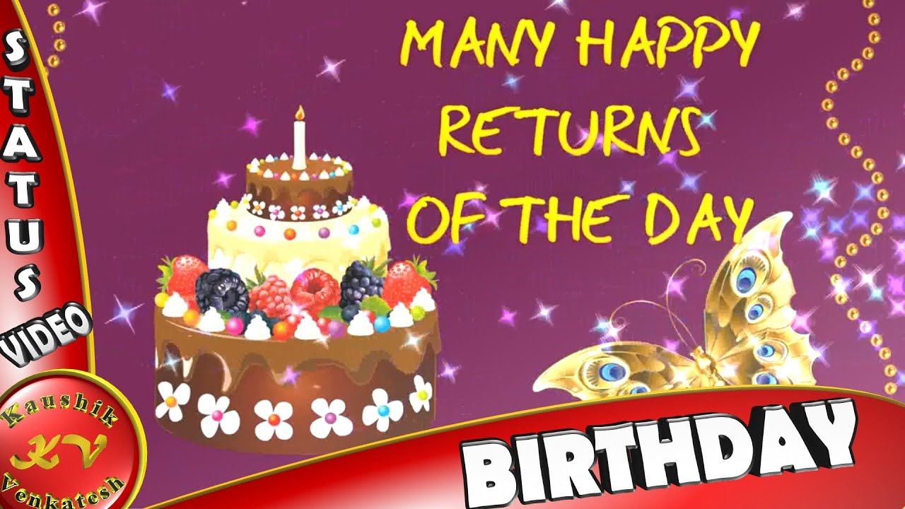 Birthday Wishes For Someone Special Happy Birthday Video Message
