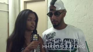 Swizz Beatz with HipHopRealEstate